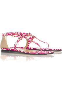 Tibi Twiggy T bar sandals   0% Off Now at THE OUTNET
