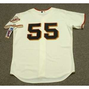 TIM LINCECUM San Francisco Giants AUTHENTIC Majestic Home Baseball