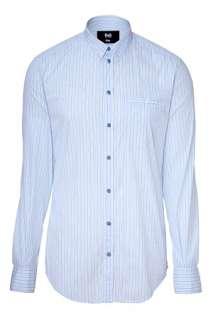 Light Blue Stripe Shirt von D&G DOLCE & GABBANA  Die