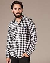 Riverter Shirt   Superdry   White/blue   Shirts (men)   Clothing men
