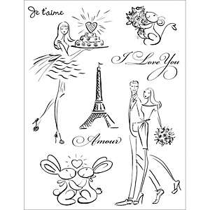 Penny Black Clear Stamp Sheet   Jaime Paris