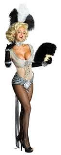 Sexy Showgirl Marilyn Monroe Costume   Marilyn Monroe Costumes