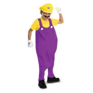 Super Mario Bros.   Wario Deluxe Toddler / Kids Costume, 801404