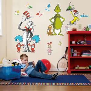 Dr. Seuss Giant Wall Decals, 68079