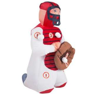 Halloween Costumes Baseball Catcher Airblown Inflatable Game