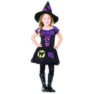 Halloween Costumes Black Cat Witch Child Costume