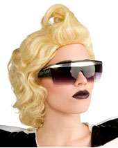 Lady Gaga Glasses Adult $9.99 Retail Value $14.99 In Stock