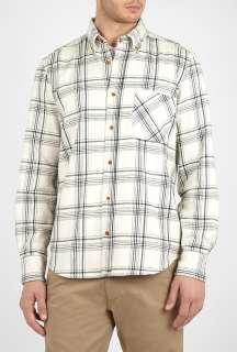 Adam Kimmel X Carhartt  Birch Plaid Flannel Button Collar Shirt by