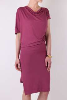 Rose Drape Jersey Dress by Vivienne Westwood Anglomania   Pink   Buy