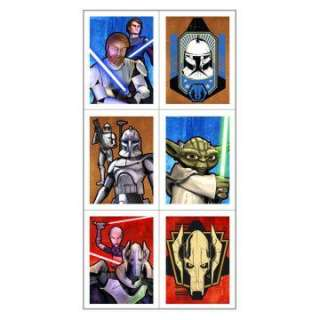 star wars the clone wars stickers 4 count regular $ 3 99 price $ 2