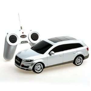 124 Scale Audi Q7 sliver Radio Remote Control Car Toys