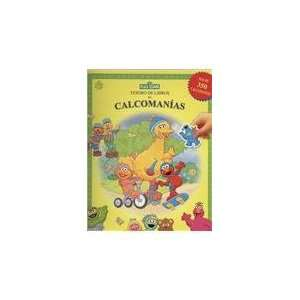 Tesoros de calcomanias, Plaza Sesamo/ Sticker Book