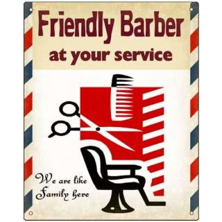 Barber Shop sign Antique Style wall decor Hair Stylist