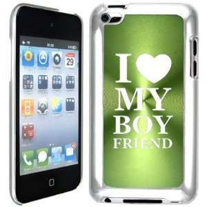 Apple iPod Touch 4 4G 4th Generation Green B623 hard back case
