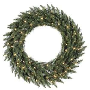 Foot, Dura Lit Artificial Christmas Wreath, Camdon Fir, Clear