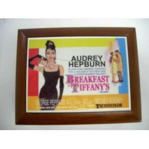 com Audrey Hepburn Breakfast At Tiffanys Classic Film Wooden Musical