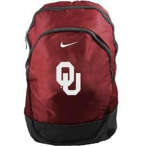 Nike Oklahoma Sooners Crimson NCAA Backpack Sports