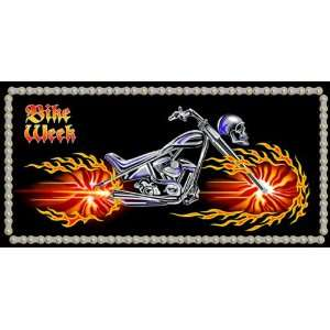 Bike Week Beach & Bath Towel #4