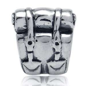 Vacations Solid Sterling Silver Fits European Charm Bead Bracelets