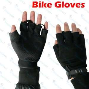 Bike Bicycle Fingerless Cycling Half Finger Gloves Electronics