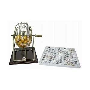 Professional Bingo Set (Ping Pong Style Balls) Sports