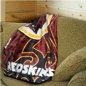 Redskins Tattoo Plush Blanket Throw