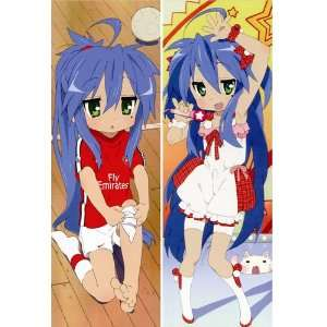 Japanese Anime Body Pillow Anime Lucky Star, 13.4x39.4 Double