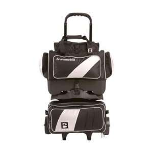 Pro Player 4 Ball Roller Silver / Black Bowling Bag