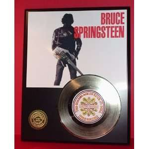 BRUCE SPRINGSTEEN GOLD RECORD LIMITED EDITION DISPLAY