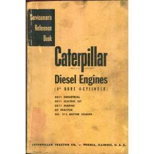 Servicemens Reference Book Caterpillar Diesel Engines (4