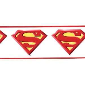 Superman Logo Wallpaper Border: Home Improvement