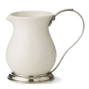 Tuscan Ceramic Large Pitcher