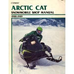 Clymer Arctic Cat  Snowmobile Shop Manual 1988 1989 Ron
