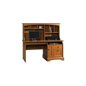 Graham Hill Computer Desk with Hutch Autumn Maple