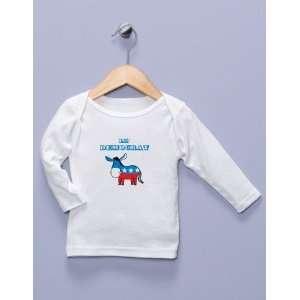 Lil Democrat White Long Sleeve Shirt Baby