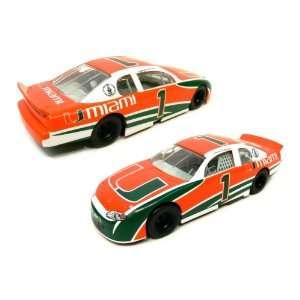University of Miami Hurricanes NCAA Vintage Diecast Car: Toys & Games