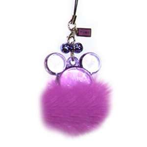 Disney Mickey / Minnie Mouse Purple Furtastic Handheld & Cell