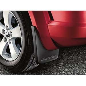 Dodge Journey Rear Molded Splash Guards