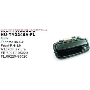 TACOMA OUTSIDE DOOR HANDLE FRONT LEFT (DRIVER SIDE) BLACK COLOR SMOOTH