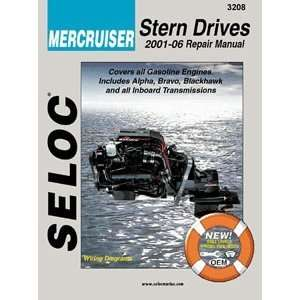 MANUAL MERCRUSR MERCRUISER GAS ENGINES 2001 08   33032: Electronics