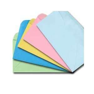 #10 Regular Envelope   Assorted Pastel colors (Pkg of 50