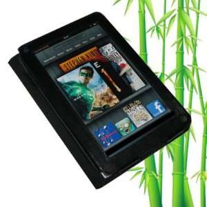Leather Case, Cover for  Kindle Fire (Black) Electronics