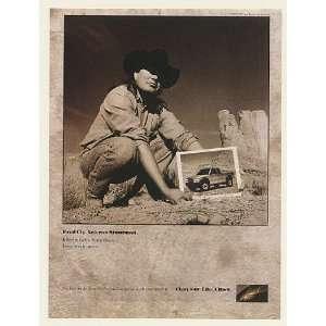 1998 Veteran Stuntman Fred Cly Chevy S 10 Pickup Truck Print Ad (51489