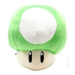 Super Mario Brothers Green Mushroom 20 Plush Doll Toys & Games