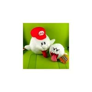 Super Mario Brothers Boo+Boo Hat Plush Doll Figure Toy Toys & Games