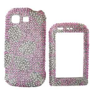 For LG Tritan Bling Hard Case Pink Cherry Blossom Gems Electronics
