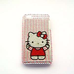 Hello Kitty stand Rhinestone Bling Crystal back cover case