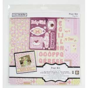 com Colorbok 12 by 12 Inch Baby Girl Page Kit Arts, Crafts & Sewing