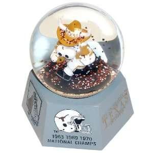 NCAA Texas Longhorns Mascot Musical Snow Globe