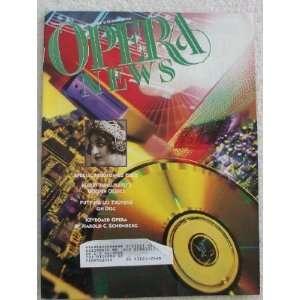 Opera News Magazine. (Single Issue Magazine) August 1994
